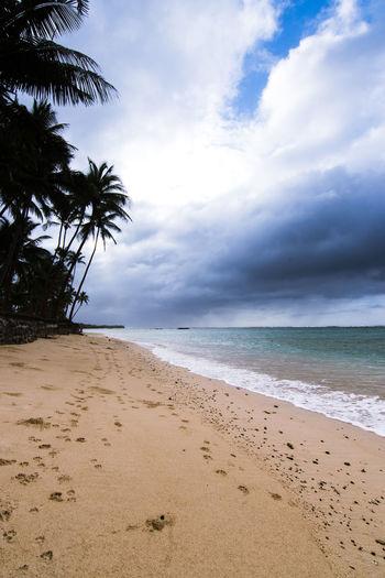 Fiji beach on a