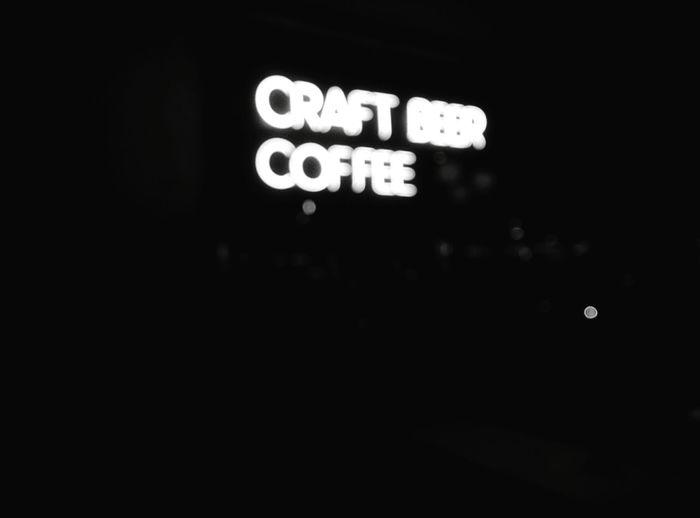 Day 214 - Craft Beer Coffee Berlin Blackandwhite Bar Coffee 365florianmski 365project Day214