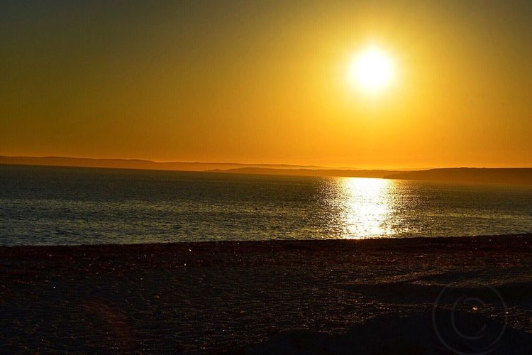 Love Spending My Evening At The Beach Eating With Family And Watching The Sun Go Down. Awesome_view Awesome Memories Sunset Togetherness Sea Sun Scenics Beauty In Nature Nature Water Beach Tranquility Orange Color Idyllic Sunlight Outdoors Horizon Over Water Sky Sand Cornwall