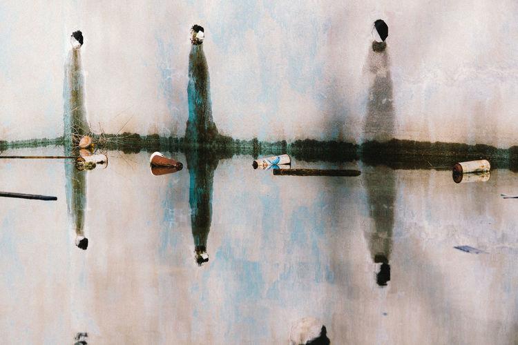 Pool Colours Reflection Photography Polarized Greece Documentary Abandoned Places Fine Art Photography