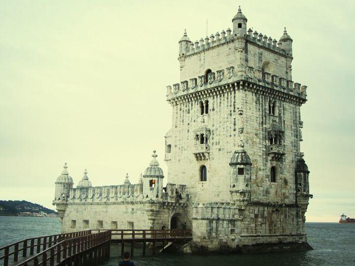 Torre de Belem .. Torre De Belém Taking Photos Of Monuments Historical Monuments EyeEm Buildings