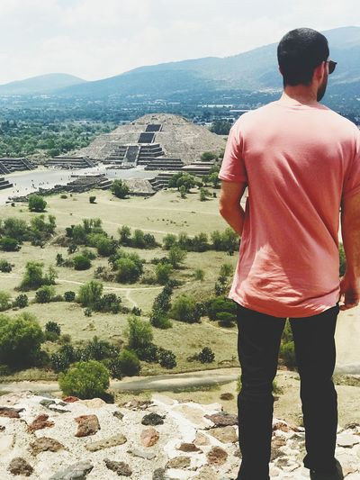 Jorge Real People Lifestyles Landscape Sacred Valley Sacred Outdoors Life Is Perfect Peace And Quiet Hello World Sunlight Gratitude Peaceful Teotihuacán Pyramids Teotihuacan