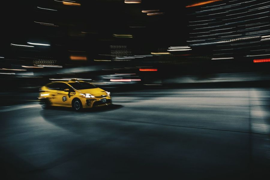 Speed force The Street Photographer - 2016 EyeEm Awards Taxi Streetphotography Canonphotography Check This Out EyeEm Best Shots Losangeles Conquer_la Uglagrammers Cities At Night TeamCanon Fine Art Photography