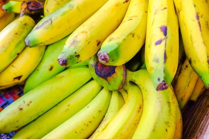 Banana sold on fruit stall in Thailand. Tropical Fruits Banana Bananas Bananas For Sale Close-up Food Food And Drink Freshness Fruit Fruit Market Fruit Photography Fruit Stall Healthy Eating No People Outdoors Yellow