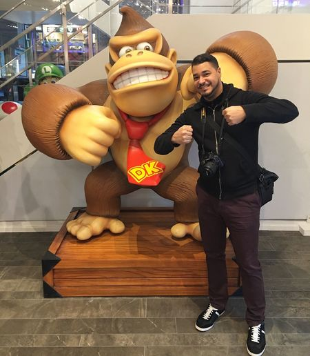 Donkeykong Donkey Kong Videogames Video Game Character Toy Structure Nitendo World Taking Photos Enjoying Life Taking Photos Taking Photo Enjoying The Sights My View Enjoying The View Capture The Moment Enjoying The Moment Places I've Been NYC Game Store Enjoying Time