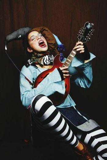 Jesteresque? Wierd Jester  Mandolin Renaissance Crazy Joker Makeup Costume Hats