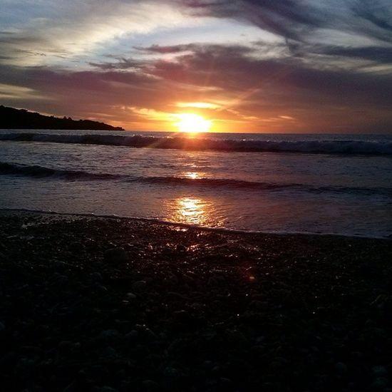Sunset at Kedonganan Beach Bali nofilter noedit pantai petang afternoonwalk beautiful amazing