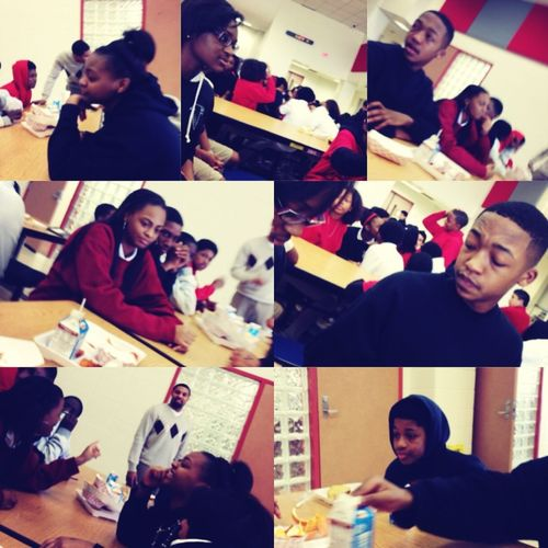 I Think This Was Thursay .. But All The Off Gaurd Pics During Lunch