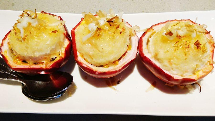 百香蟹肉塔 Passion Fruit Crab Salad パッションフルーツと蟹のサラダ 滿穗台菜 MansuiTaiwaneseCuisine 満穂では