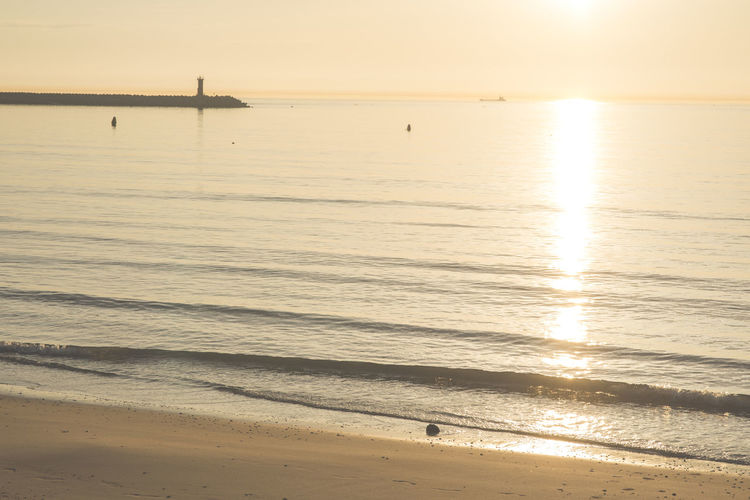 Beach Beauty In Nature Day Horizon Over Water Korea Nature Nautical Vessel No People Outdoors Sand Scenics Sea Sky Sunset Tranquility Travel Destinations Water