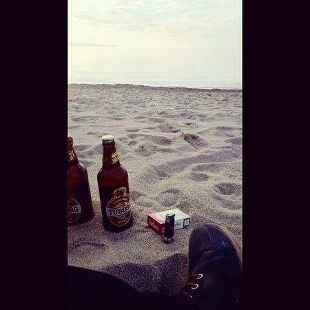 Beach Photography Beer Smoke Kills ? Sea Beach Fun ✌✌
