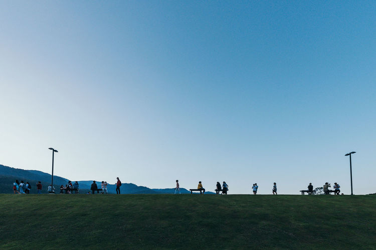 Relaxing day Copy Space Chiangmai Chiang Mai | Thailand Weekend Activities Weekend Sunday Activities Sunday Relaxing Park Environment Field Lifestyles Day Blue Leisure Activity Nature Crowd Large Group Of People Grass Clear Sky Sky Group Of People Minimalism Minimal