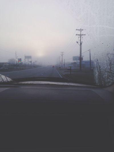 Foggy that morning