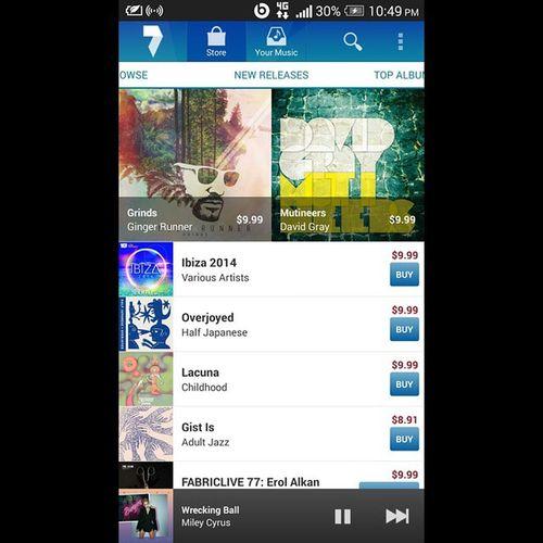 ??? Wriking ball BEATS 7digital Music Mileycyrus