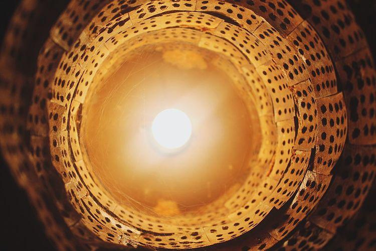 Indoors  Illuminated Low Angle View No People Night Close-up Bulb Light Light And Shadow Glow Bright Yellow Rusty Lamp Shade EyeEm Best Shots Brown Shade Royalcliffhotel Light In The Darkness Light Bulb Middleofnowhere Cobweb Habitat Lightattheendofthetunnel Be. Ready.