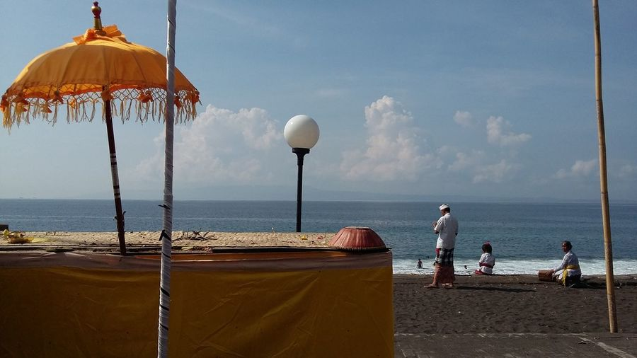 Good morning from bali TakeoverContrast Yellowforprosperity Balinessetranquility Religiousactivity Peacefull Place