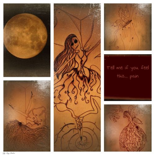Lily's art Check This Out Hello World To Live  To Die Belgium Taking Photos From My Point Of View Eyem Nature Lover Lily Lily May Parker Showcase: January Unhappy Art Photography Full Moon 🌕