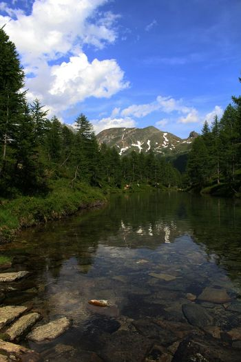 Amazing Nature Landscape Enjoy The Silence Enjoying The View Water Reflection in Alpe Veglia