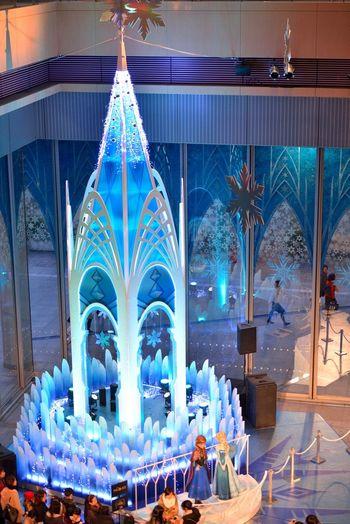 アナと雪の女王 Disney Tokyo Christmas Christmas Eve Japan