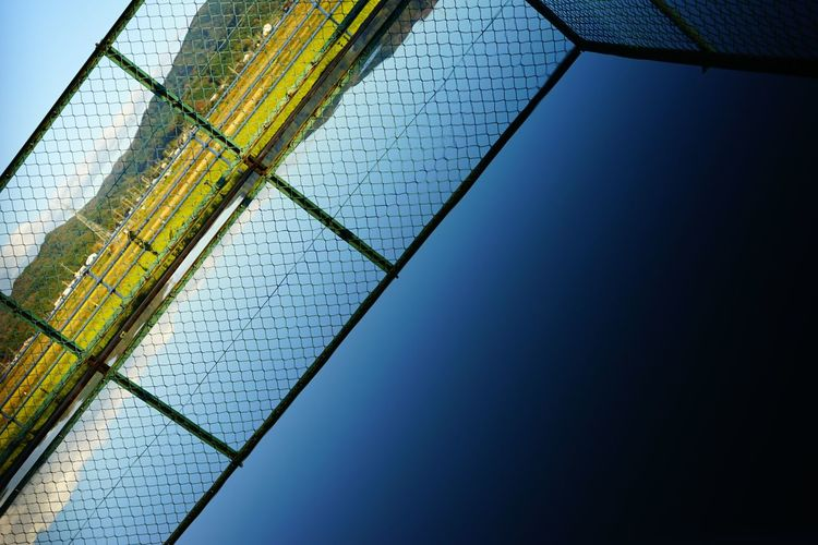 Beach Volleyball Close-up Day Goal Goal Post Low Angle View Nature Net - Sports Equipment No People Outdoors Sky Soccer Field Sport Water Live For The Story