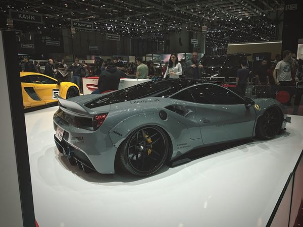 Car Ferrari Liberty Walk Geneva