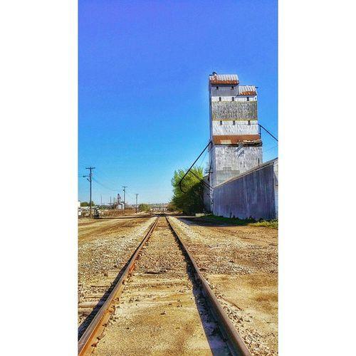 Tracks in south side St Joe ...... Ks_pride Ipulledoverforthis Train Travel