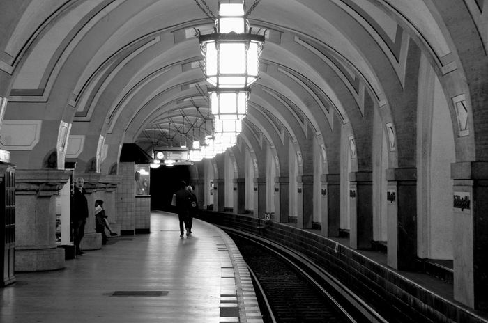 Cathedral like subway station from 1913. Discover Your City Notes From The Underground NEM Black&white Urban Geometry