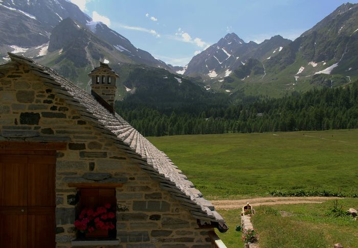 Perfect Place Enjoy The Silence Nature Landscape Architecture Amazing View in Alpe Veglia