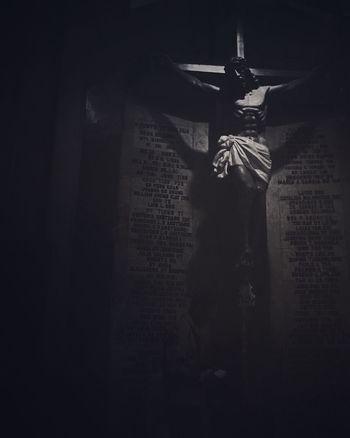 Pray Faith Blackandwhite Church