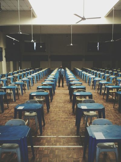 Growing Better this picture taken a day before SPM been taken. This picture shows that the arrangement of the tables and chairs well organize represent the strick rule of examination and how its really important to each everyone of Malayasian student