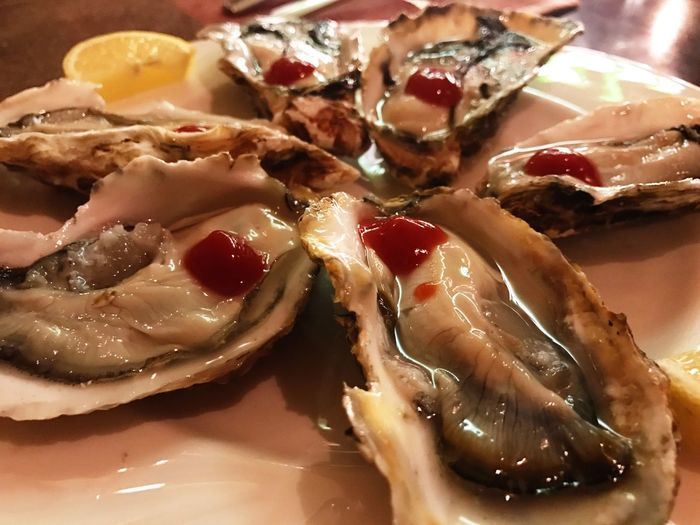 Oysters. Food