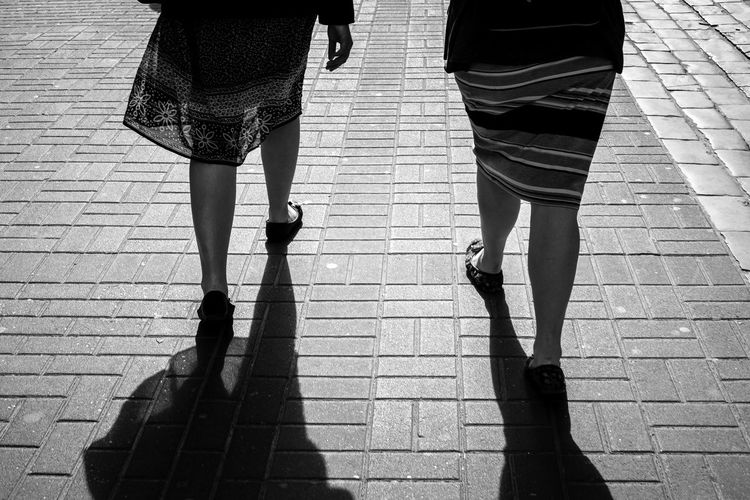 Girls girls girls Bonding Casual Clothing City Friendship Human Leg Leisure Activity Lifestyles Love Low Section Outdoors People Real People Shadow Sidewalk Standing Sunlight Togetherness Two People Walking Walking Around Women The Street Photographer - 2017 EyeEm Awards The Great Outdoors - 2017 EyeEm Awards