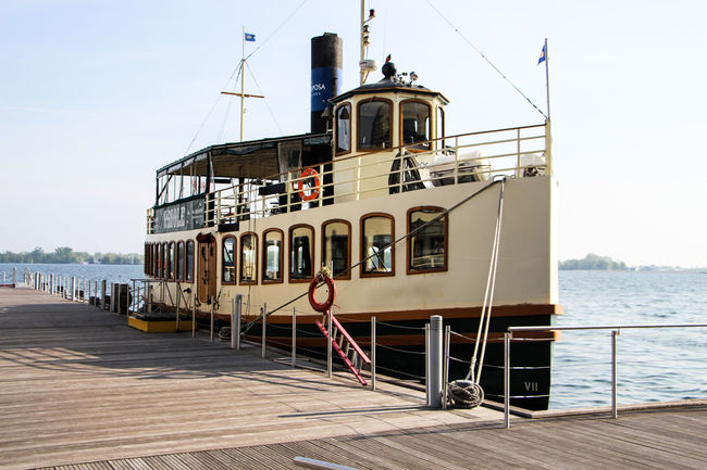 Architecture Boat Built Structure Cruise Ship Day Dockside Horbour Lakesideview Nature No People Outdoors Pier Rippled Riverside Scenics Sea Sky Tranquil Scene Tranquility Travel Destinations Vessel Water Waterfront