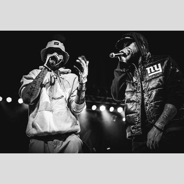 Redman // Method Man Smokers Club tour @redmangilla @methodmanofficial Bw Blackandwhite Monochrome Asheville Wutang Methodman Redman Rap HipHop Smokersclub
