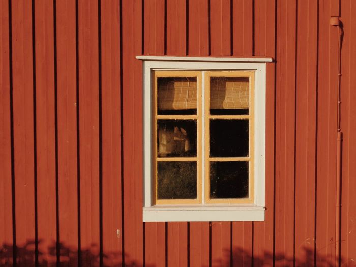 Full frame shot of window of building