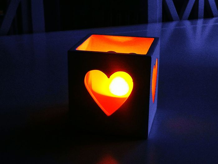 Orange Color Indoors  Heart ❤ Geometric Shape Close-up Darkroom Light And Shadow Light In The Darkness For Syria EyeEm Best Shots EyeEmBestPics