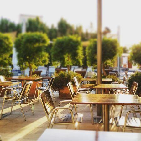Having dinner in the sunset. Vacationtweet Lifeisgood Portdesóller Mallorca Baleares Spain