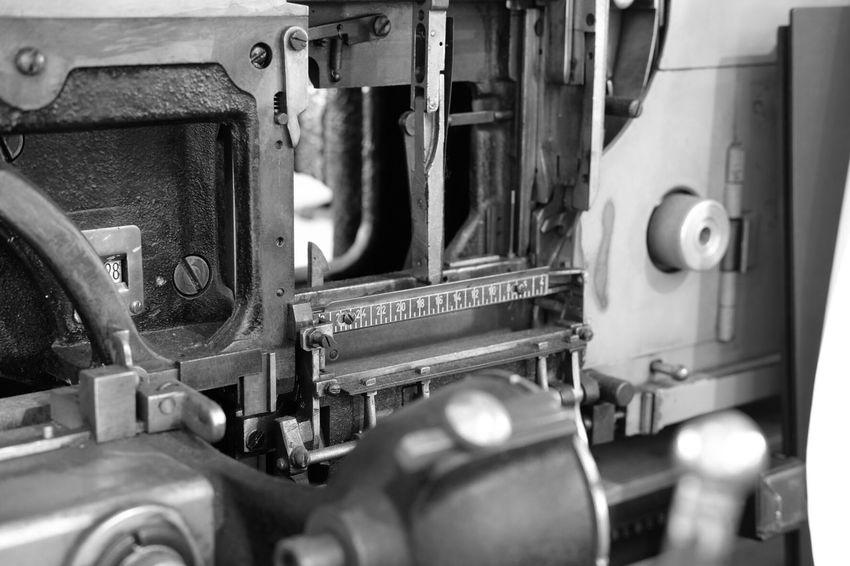 EyeEm Selects Machinery Metal Printing Press