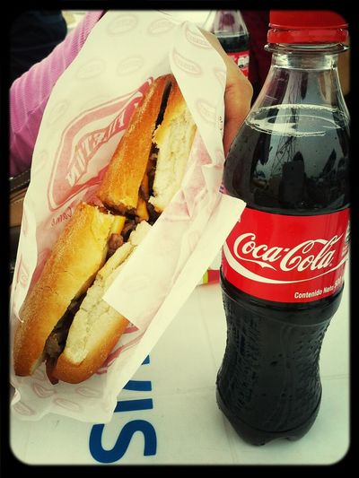 Coca Cola Sandwich Cheese! Meatlove 3 x cheese + meat :D
