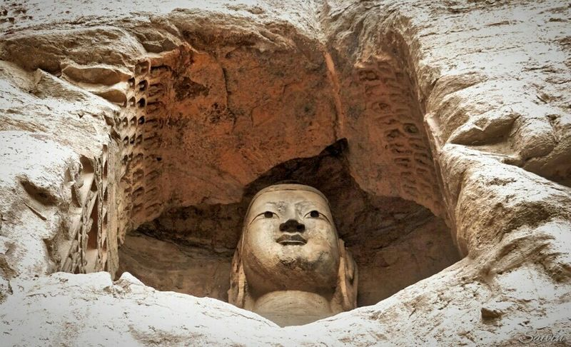 Buddha Statue Buddha Statue Buddhist Temple Seeing The Sights Yungang Grottoes Yungang Caves near Datong The Story Behind The Picture EyeEm Best Shots EyeEm Best Edits Religious Art A Moment Of Zen... Zen Attitude Traveling EyeEm China Religious Architecture Religion Ladyphotographerofthemonth