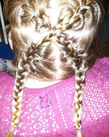 Jasmine did my hair @_dj_jazzy_jeff Blonde_and_red_hair Braids