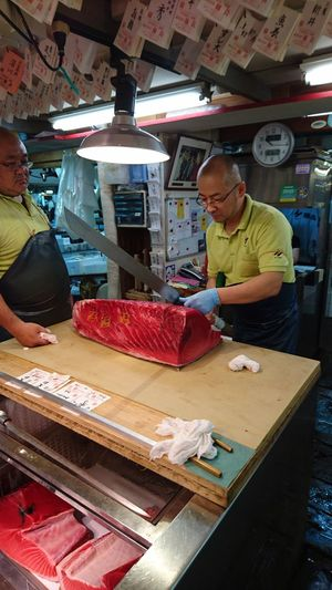 Fisherman FishMarket Japan Photography Japan Tsukiji 築地 Tuna Maguro