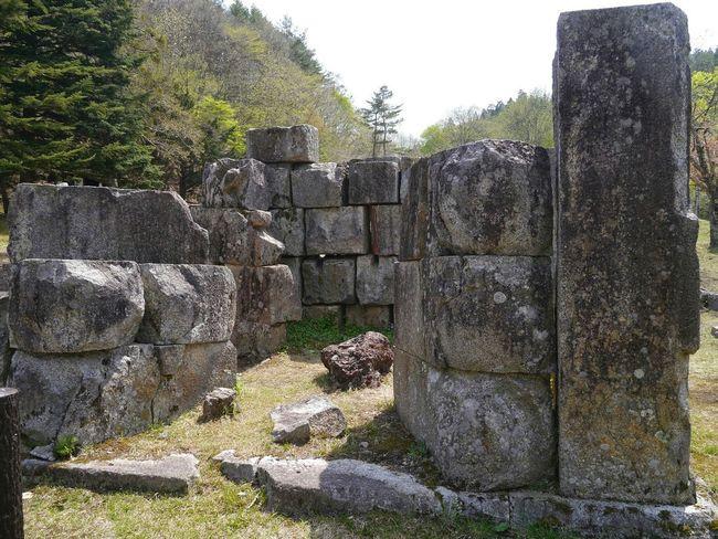 Old blast furnace at Kamaishi Iwate(remainsruins) Japan Tohoku Iwate Prefecture Industrial Heritage