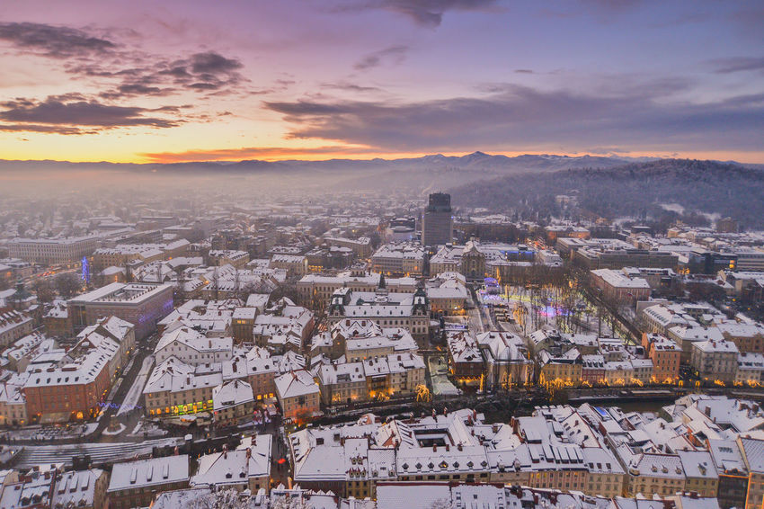 Blue Hour City EyeEm EyeEm Best Shots Ljubljana Ljubljana, Slovenia Slovenia Snow ❄ Winter Winterscapes Wintertime Architecture Best Shots Building Exterior Built Structure City Cityscape Day Ljubljana Castle Ljubljanacity Ljubljanamoments Mountain Nature No People Outdoors Residential Building Scenics Sky Slovenija Snow Snowing Sunset Travel Destinations Winter Wonderland Shades Of Winter Go Higher The Great Outdoors - 2018 EyeEm Awards