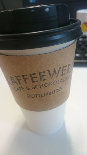 Chai Latte mit grünem Tee. Great stuff! Kaffee Kaffeewerk Coffee Coffeebreak