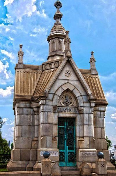 Cemetery Oakland Cemetery  Oakland Cemetery, Atlanta Georgia HDR