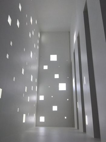 Indoors  Architecture Illuminated Low Angle View No People Ceiling Built Structure