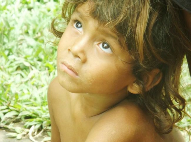 Child One Person People Portrait Headshot Childhood Shirtless Children Only Outdoors Looking At Camera Day Human Body Part Beauty Beautiful People Close-up