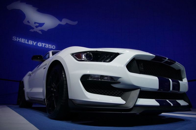 One mean pony. Shelby GT 350 Mustang Shelby  Sony A6000