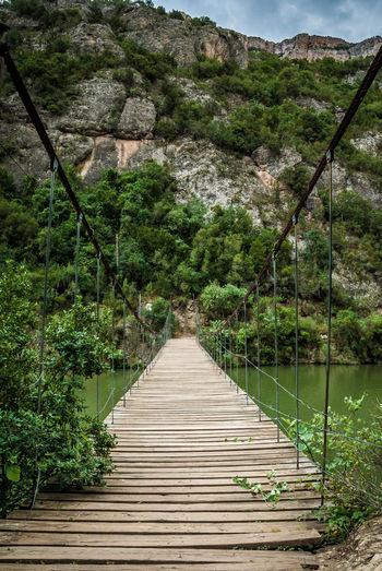 Bridge Catalonia Mountain Nature No People Outdoors Pantà De Camarasa River